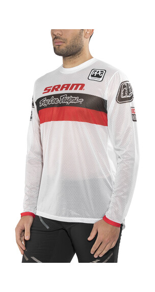 Troy Lee Designs Sprint Air SRAM TLD - Maillot manches longues Homme - Racing rouge/blanc